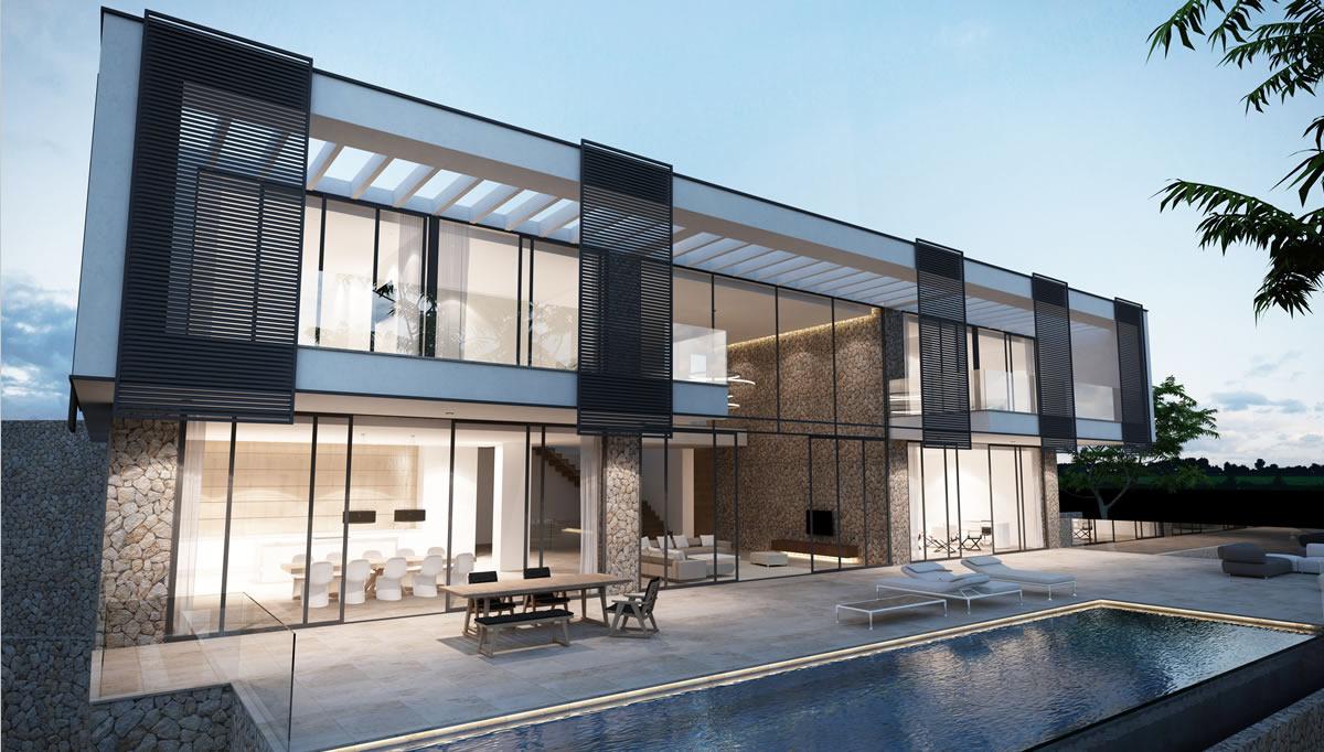 Beautiful newly built villa in Port Andratx, Mallorca